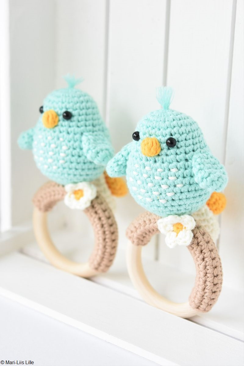 Amigurumi Bird Rattles