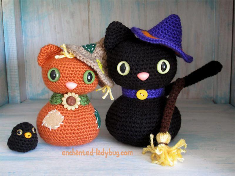 Amigurumi Scarecrow Cat