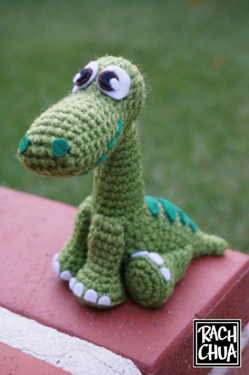 Arlo from 'The Good Dinosaur' Free Crochet Pattern