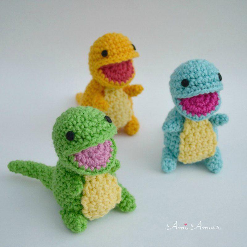 Baby Dinosaur Amigurumi