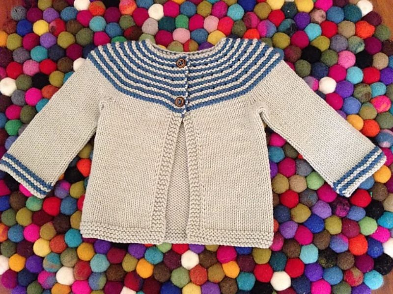 Beautiful Knitted Baby Cardigans Free Patterns