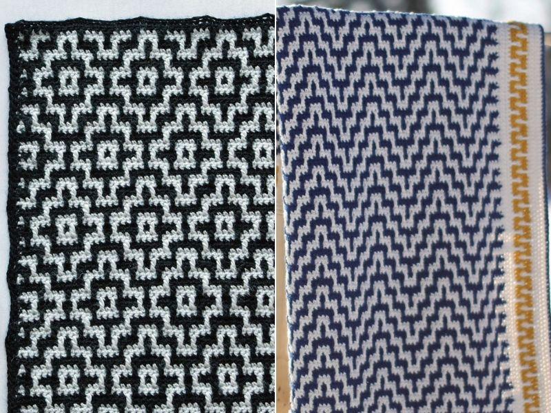 Beautiful Mosaic Blankets Free Crochet Patterns