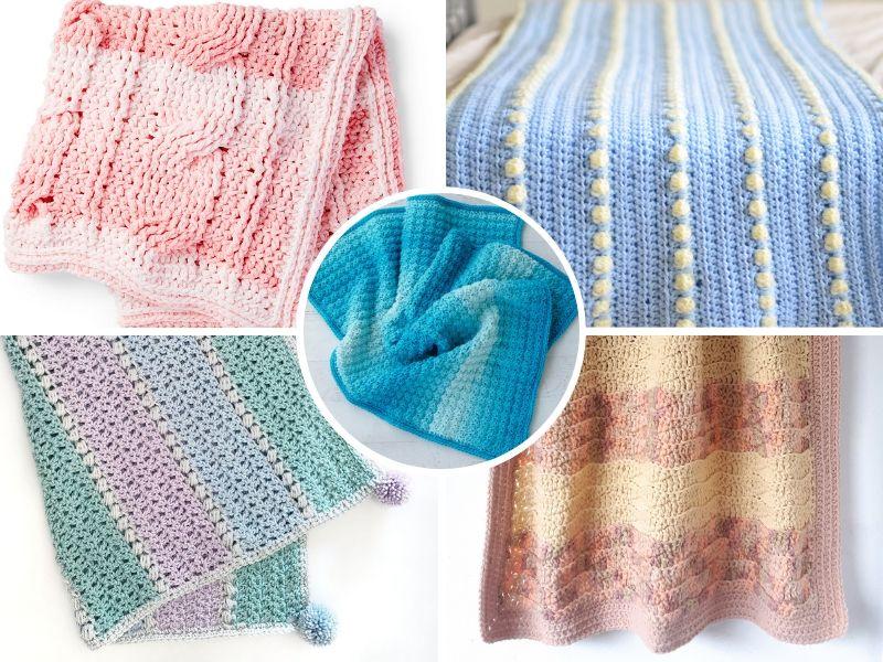 Beautiful Textured Baby Blankets