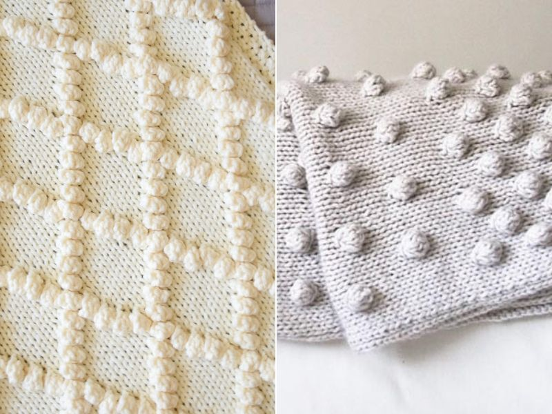 bobbly-knitted-blankets-free-patterns