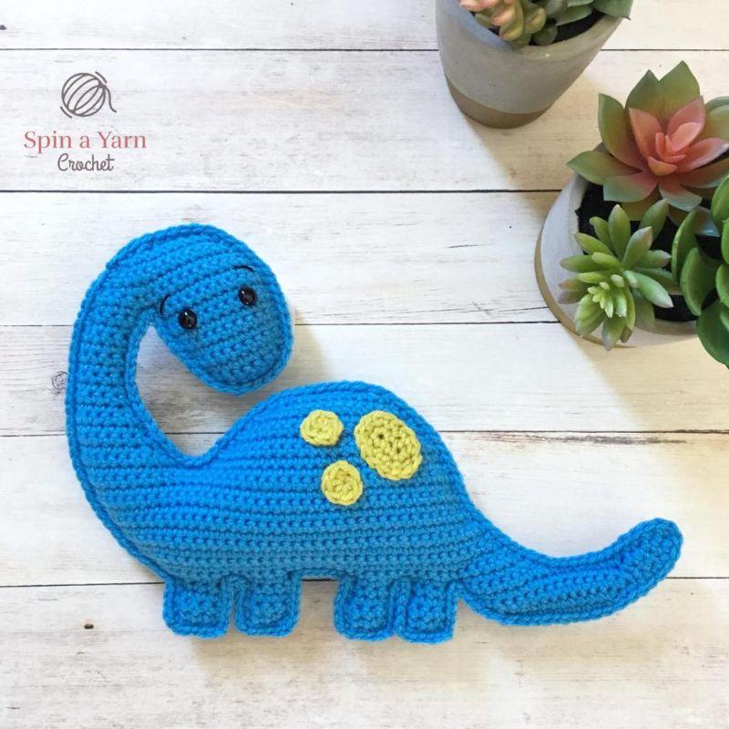 Brachiosaurus Free Crochet Pattern