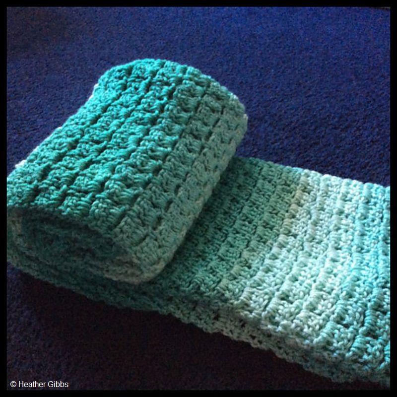 Crochet Ombre Baby Blanket