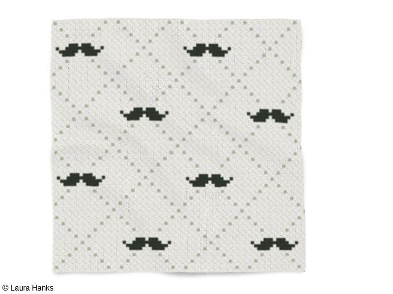 C2C Manly Mustache Crochet Pattern