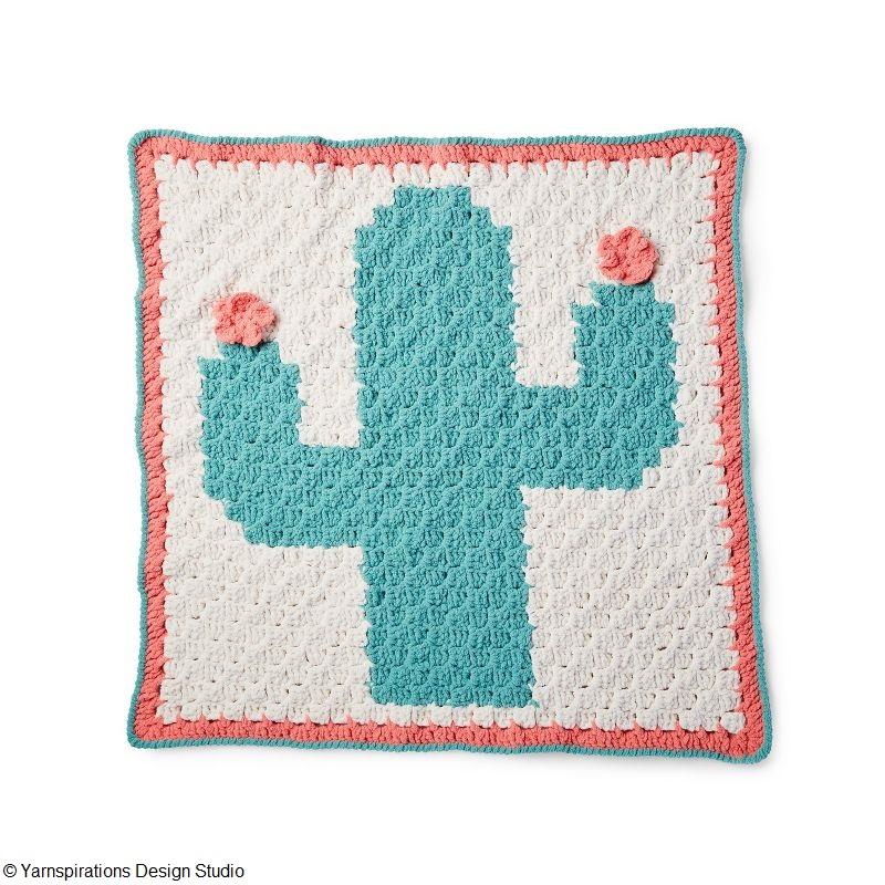 Corner to Corner Cactus Blanket