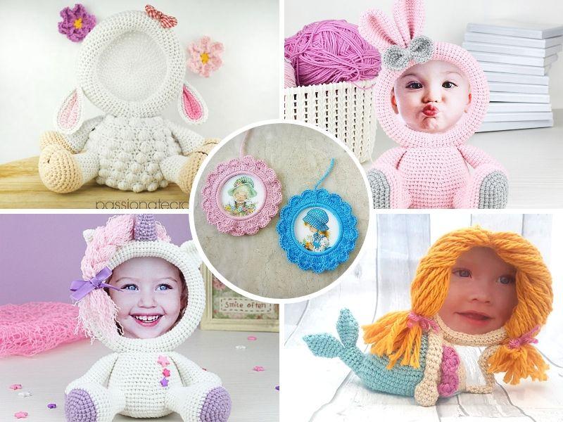 Creative Crochet Photo Frames