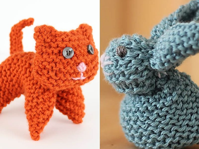 Knitting For Beginners Animals