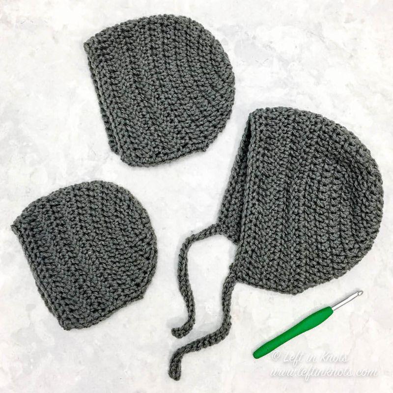 Easy Crochet Bonnet
