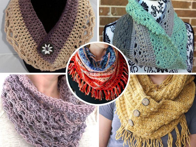 Feminine Crochet Cowls