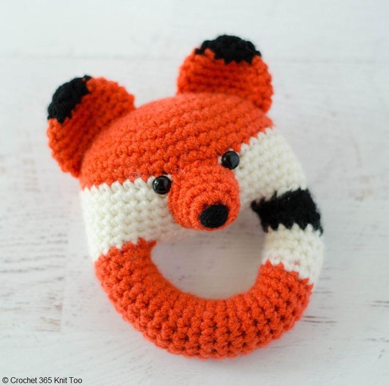 Amigurumi Fox Rattle