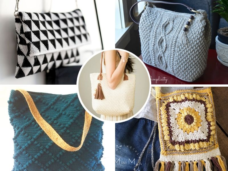 Great Crochet Handbags