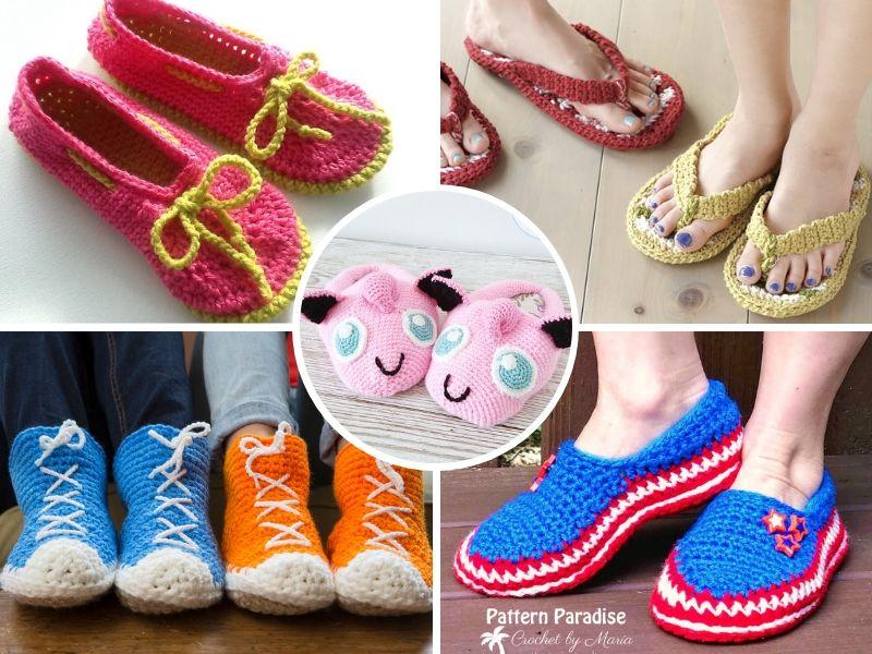 Great Family Crochet Slippers