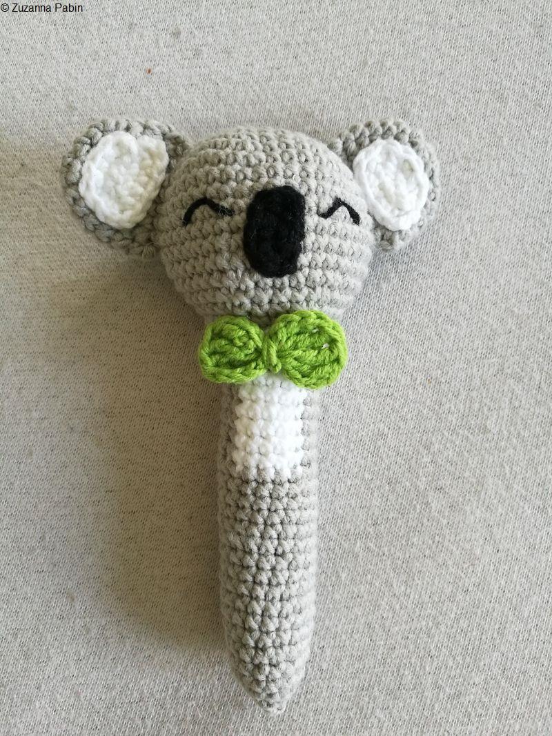 Crochet Koala Rattle