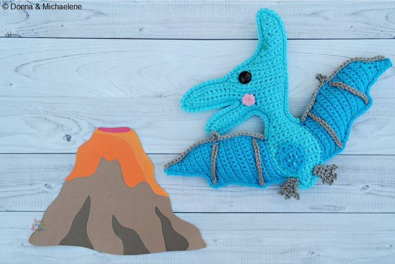 Pterodactyl Kawaii Cuddler™ Crochet Pattern