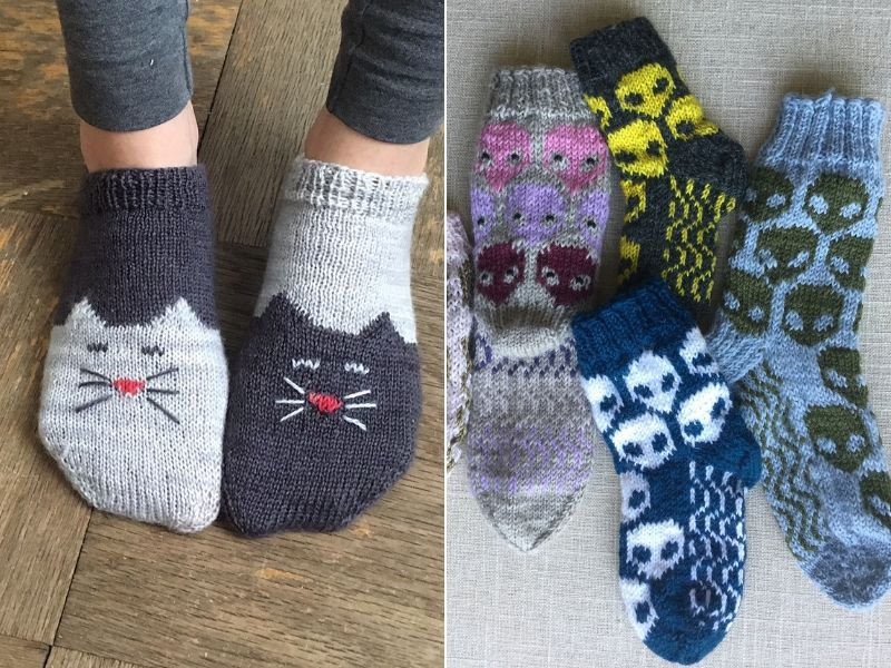 Such Fun Knitted Socks Free Patterns