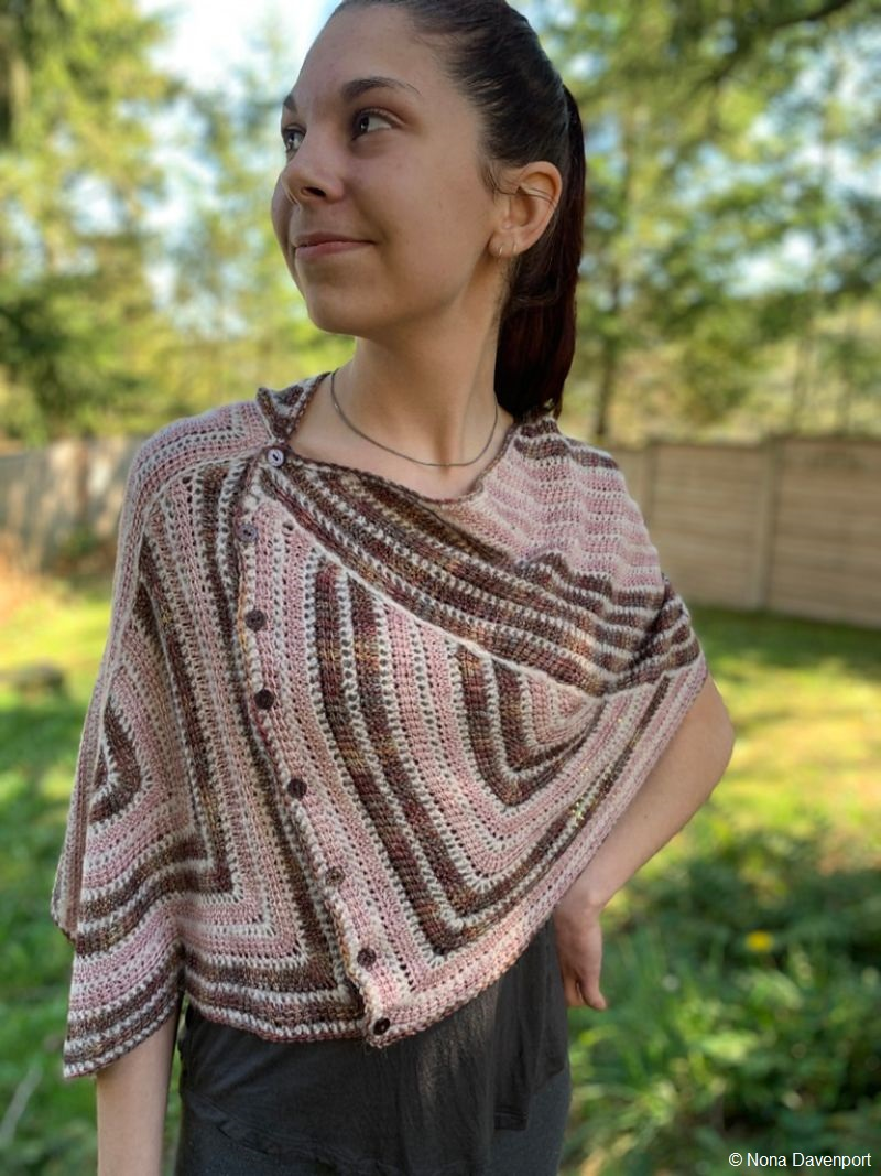 Thales Crocheted Wrap Pattern