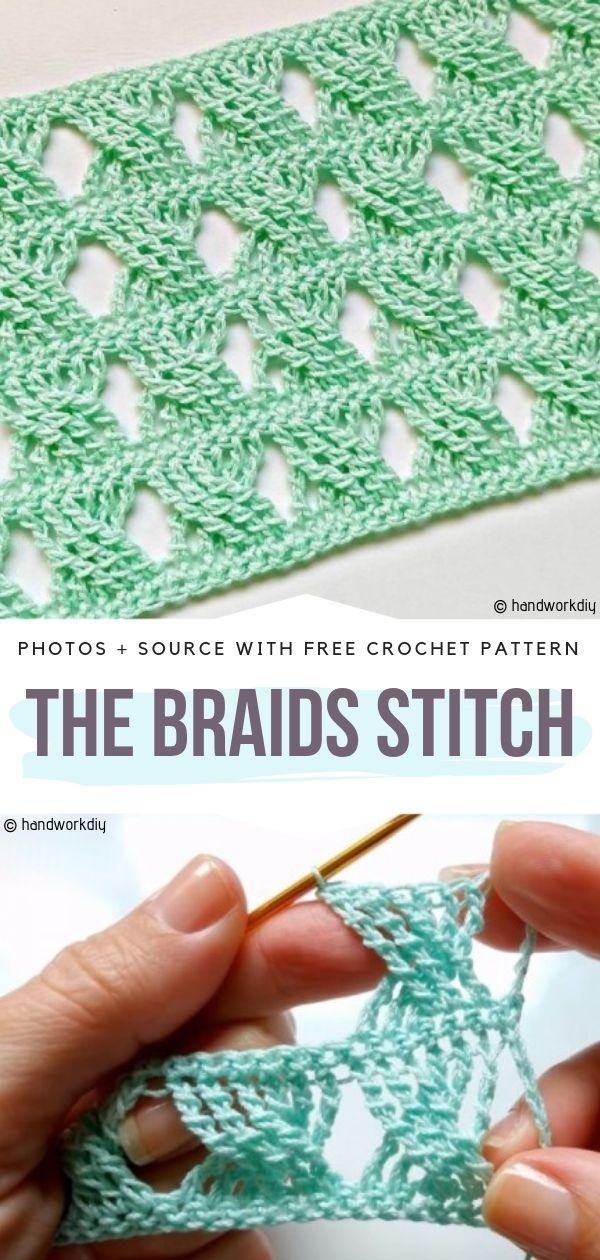 The Braids Stitch Free Crochet Pattern