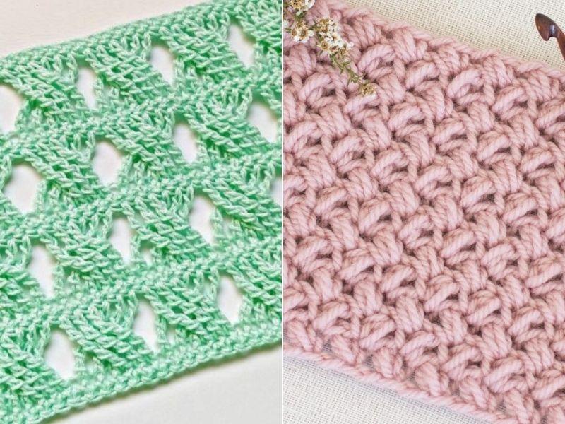 Unique Crochet Stitches Free Patterns