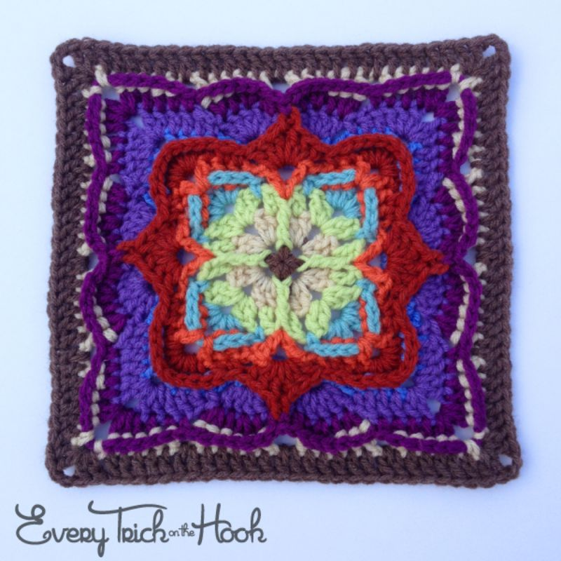Amazing Afghan Square Victor Free Crochet Pattern
