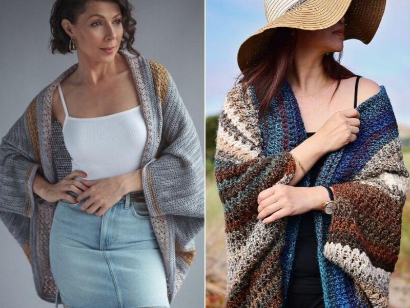 Wonderful Cozy Cardigans Free Crochet Patterns