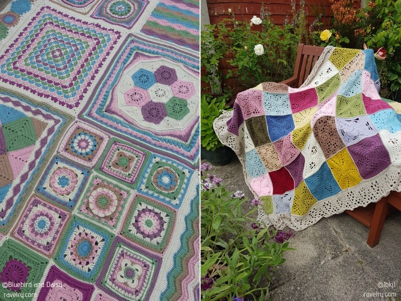 Color Boost Blanket CALs with Free Crochet Patterns