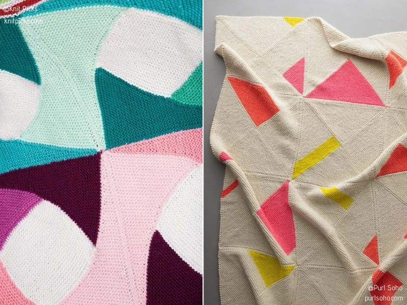 Creativity-Boosting Throws with Free Knitting Patterns
