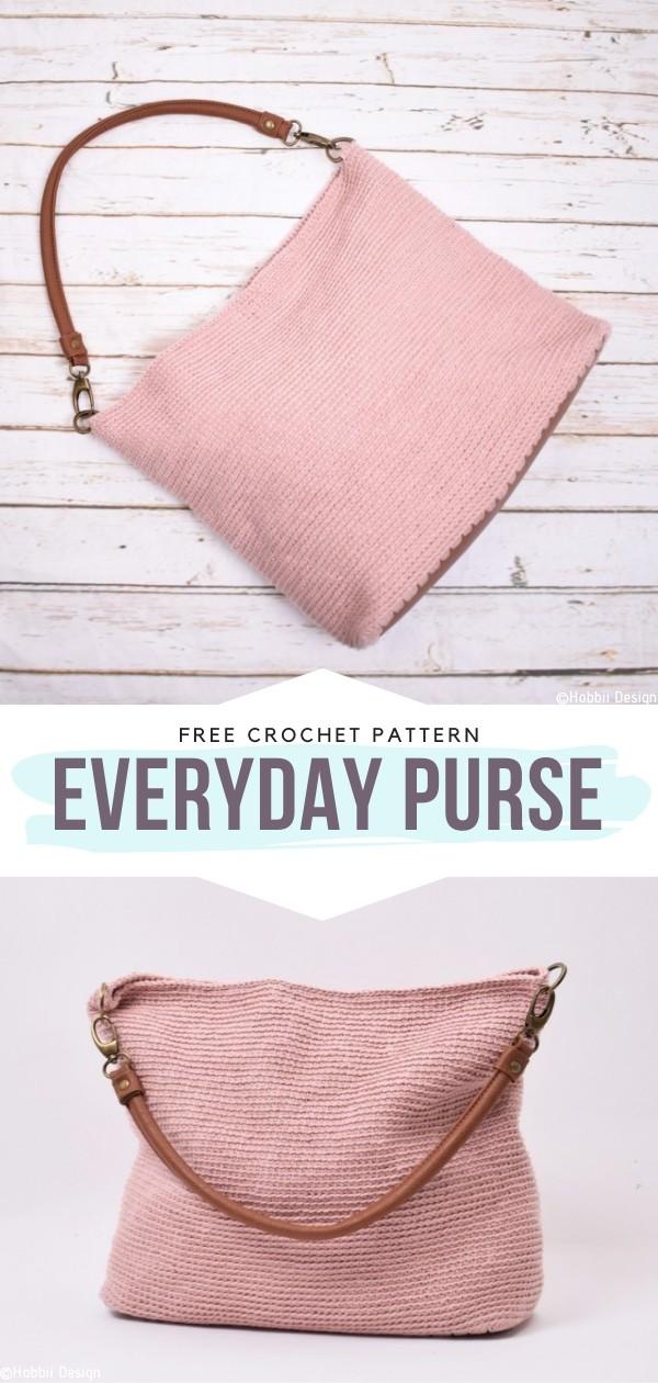 EveryDay Purse Free Crochet Patterns