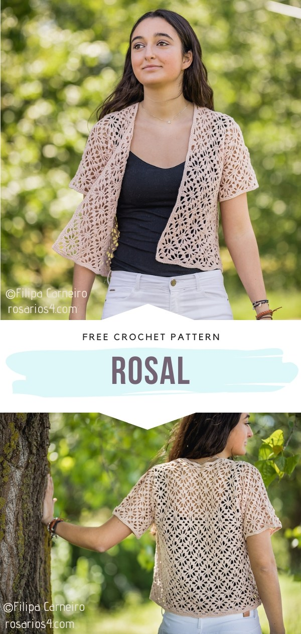 Crochet Lacy Cardigan