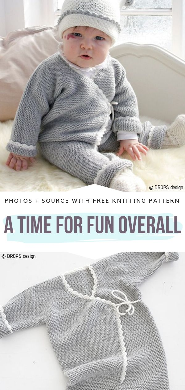 A Time for Fun Overall Free Knitting Pattern