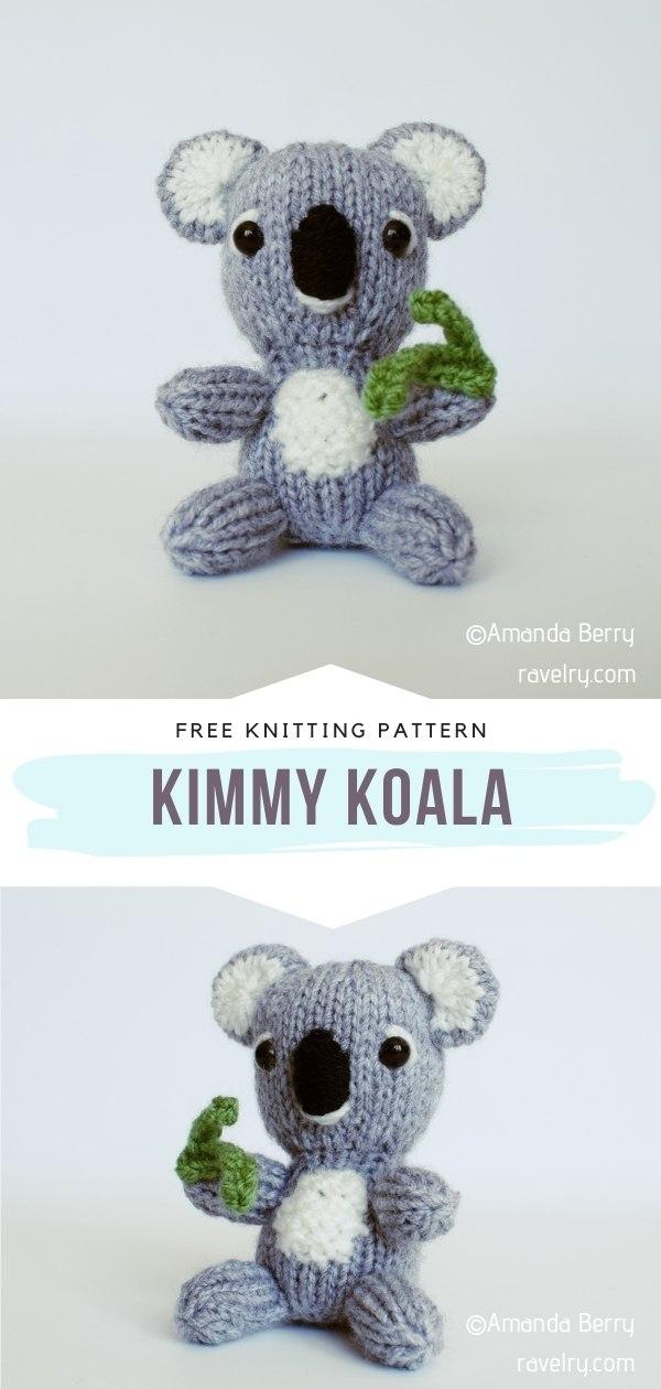 Knitted Koala Toy
