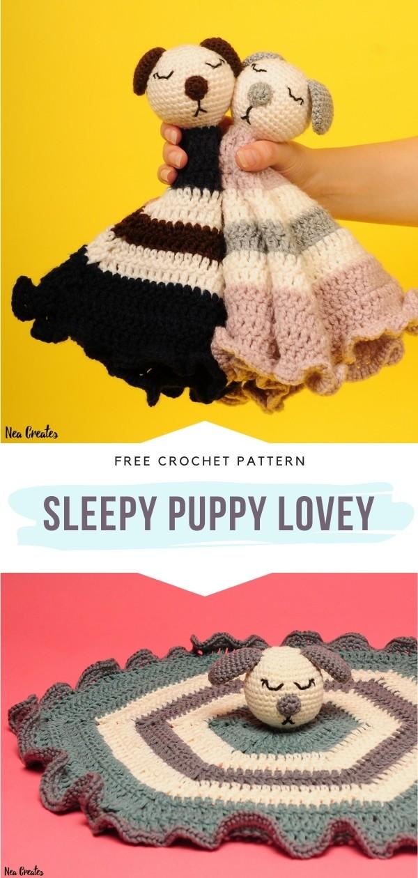 Crochet Puppy Lovey