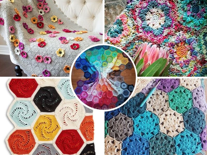 Amazing Hexagon Blankets