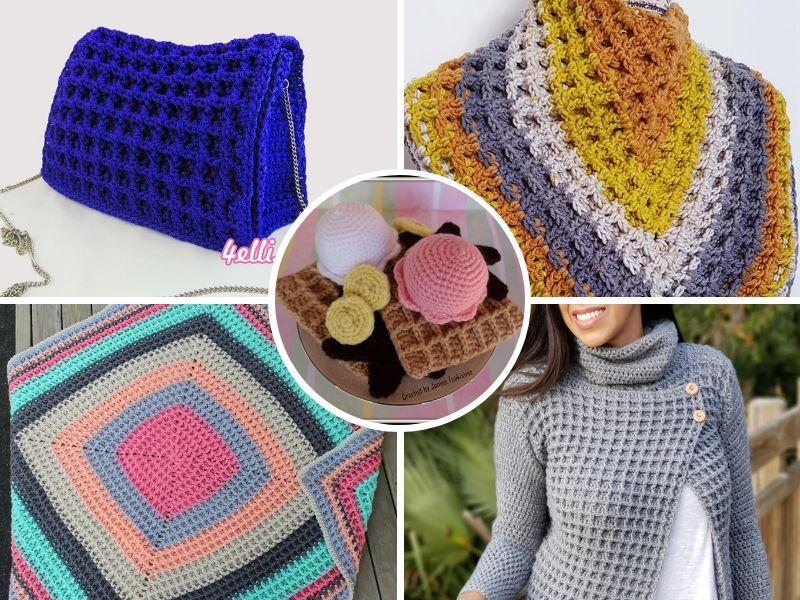 Beautiful Waffle Stitch Ideas