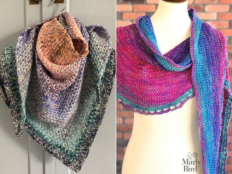 Cake Crochet Shawls Free Patterns