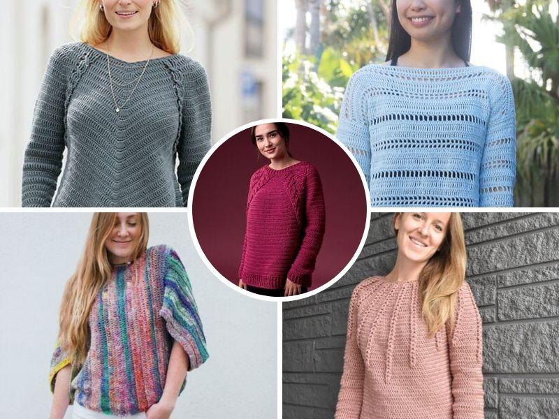 Chic Crochet Sweaters