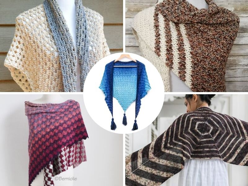 Comforting Crochet Shawls