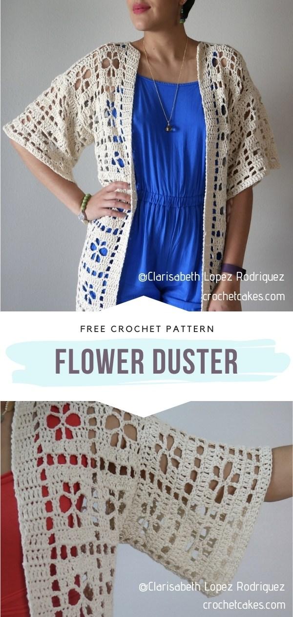Lacy Crochet Cardigan
