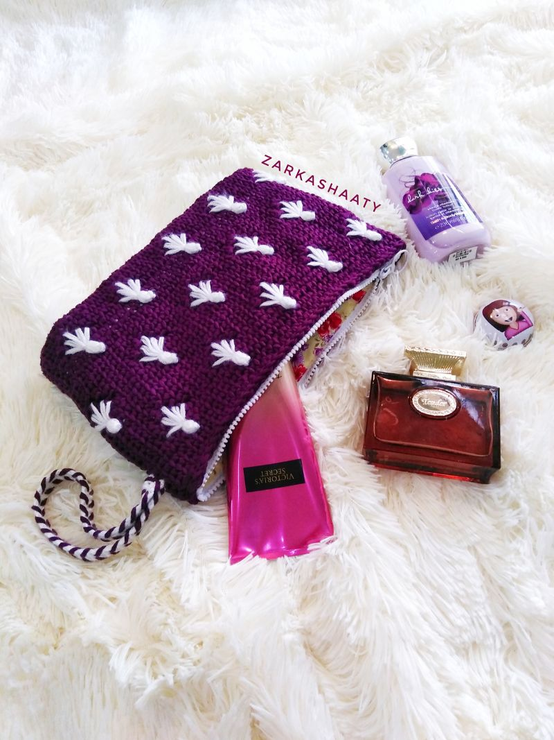 Fairy Fly Pouch Bag Free Crochet Pattern