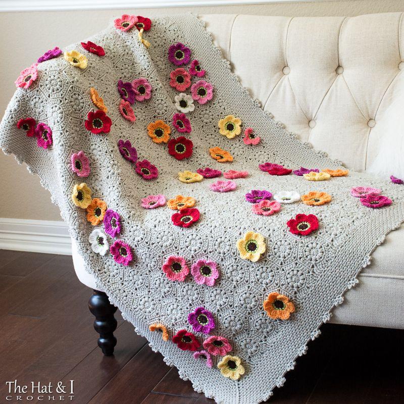 Flowerghan Crochet Pattern
