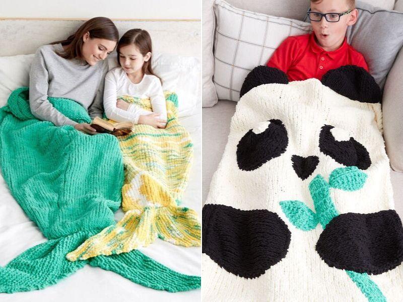 Fun Knitted Snuggle Sacks Free Patterns