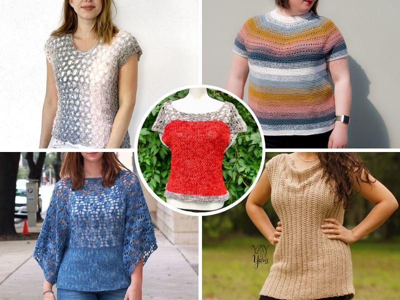 Great Casual Crochet Tops