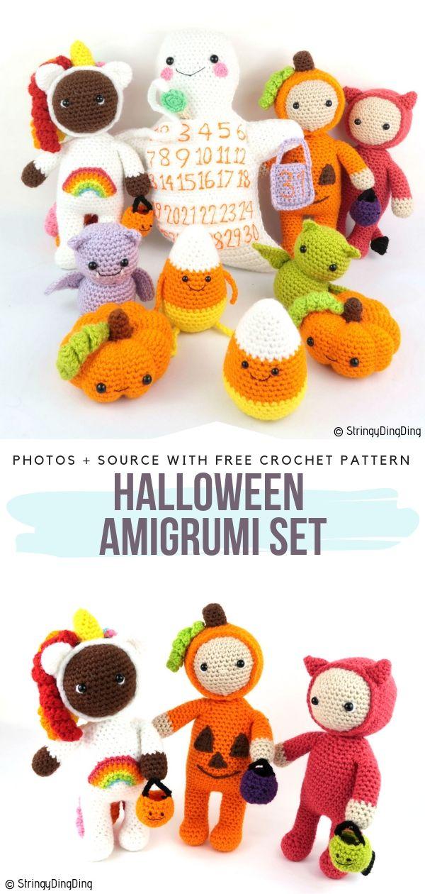 Amigurumi Set for Halloween