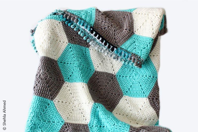 Hudson Baby Blanket Free Crochet Pattern