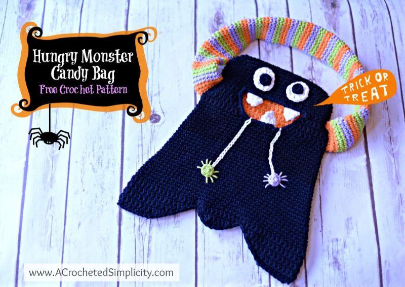 Monster Candy Bag