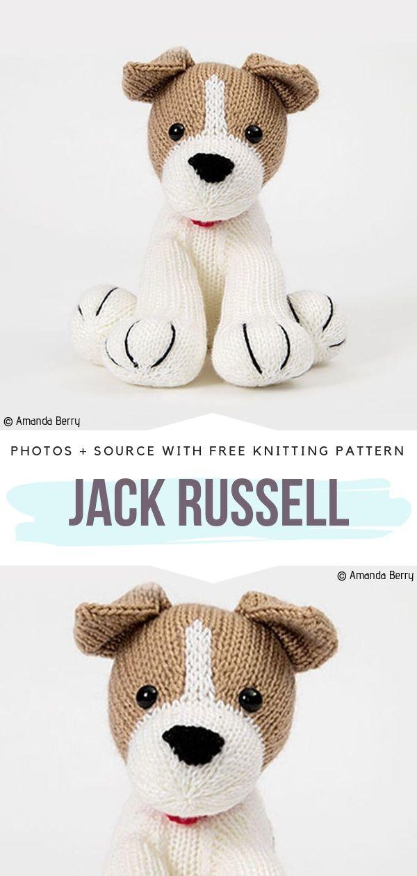 Jack Russell Free Knitting Pattern
