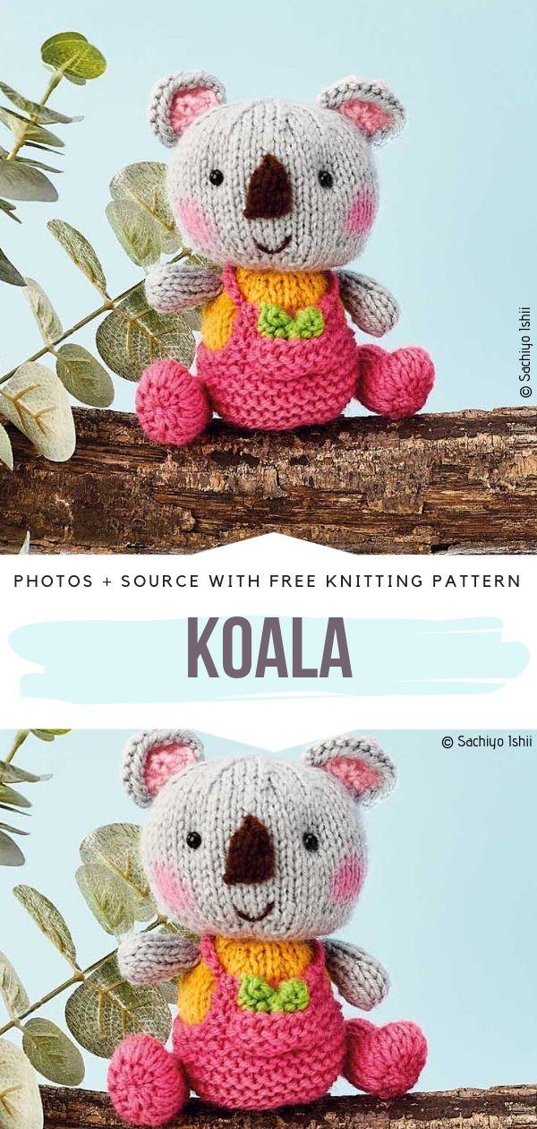 Koala Free Knitting Pattern