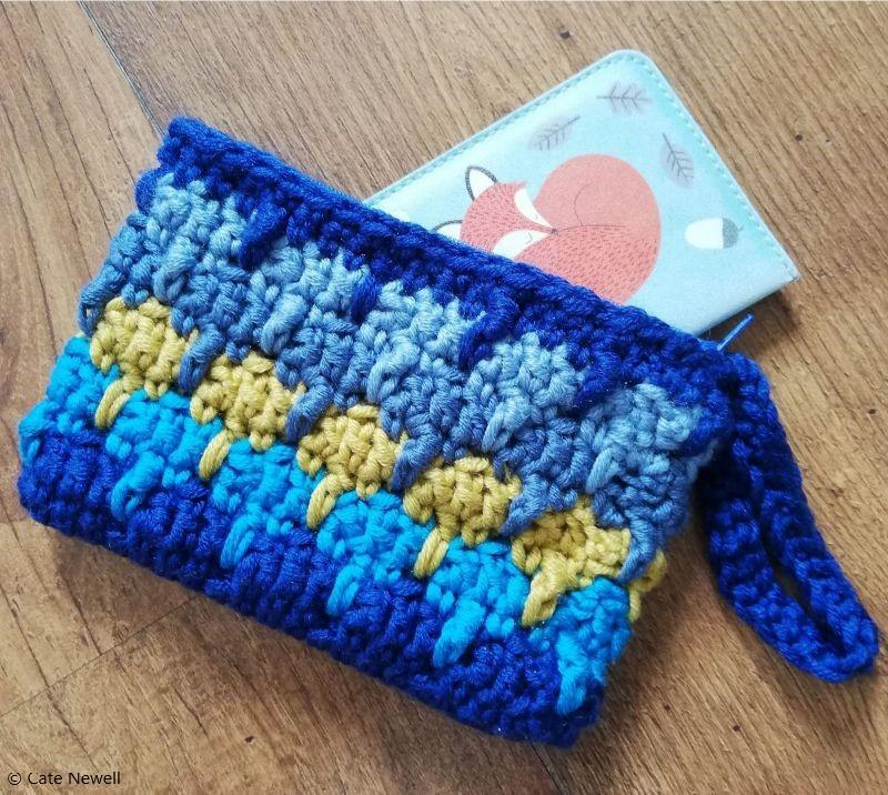 Larksfoot Clutch Free Crochet Pattern